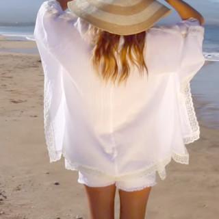 Beach kimono tutorial