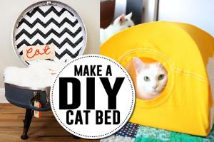 Lots of great DIY cat bed tutorials!
