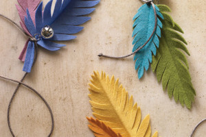 diy cat feather toy