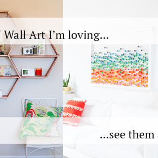 DIY wall art projects I'm loving