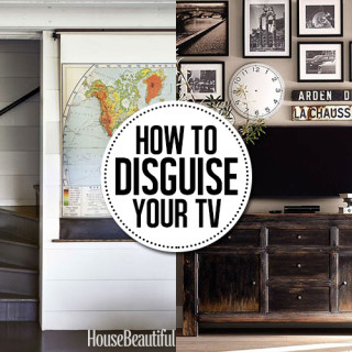 8 ways to hide a TV