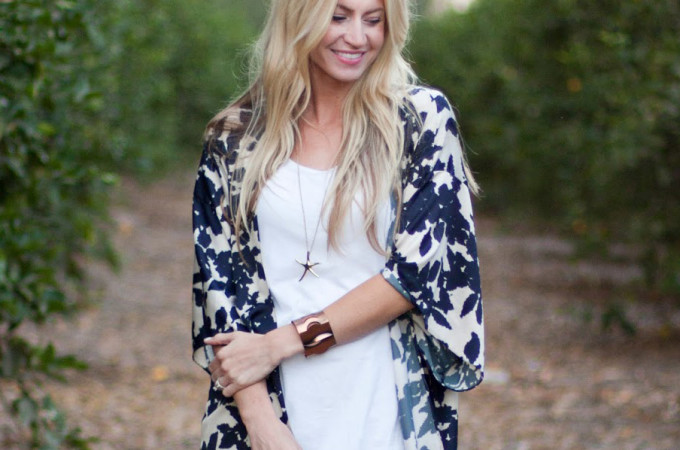 TUTORIAL: kimono with sleeves by Elle Apparel