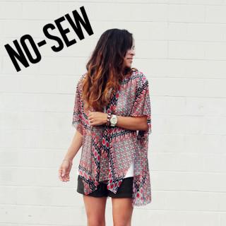 No sew kimono tutorial