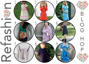 Refashion or upcycle your clothes! Great ideas here!