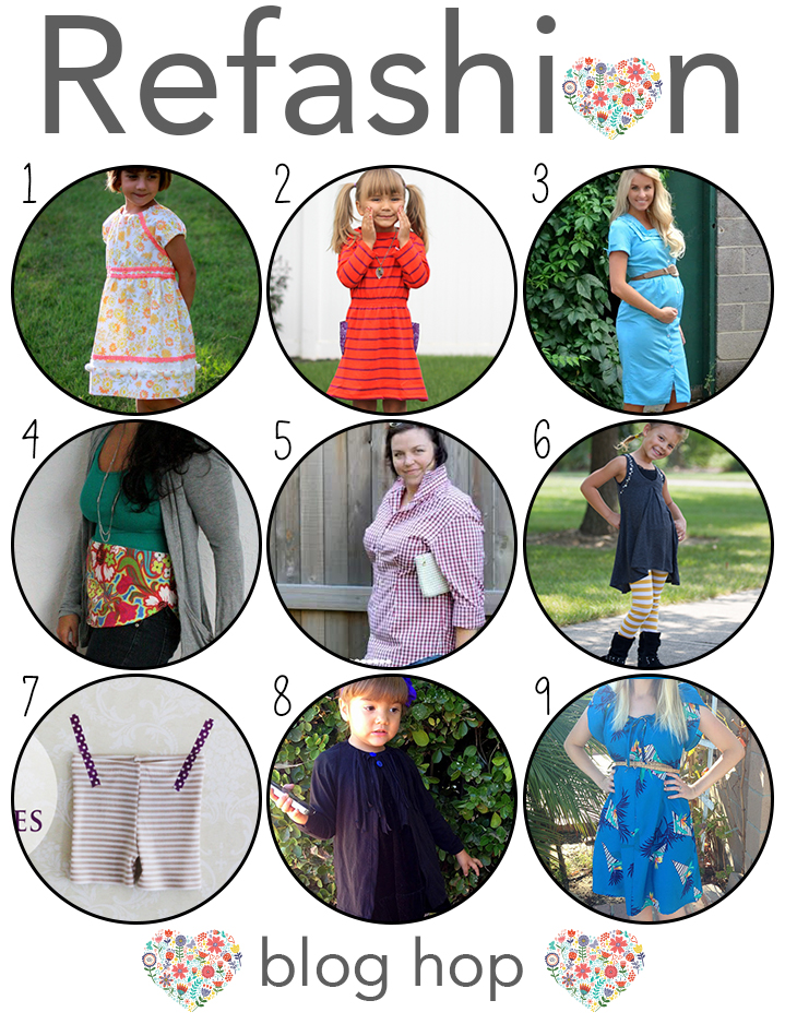 Refashion blog hop tons of great ideas all gathered in one location.