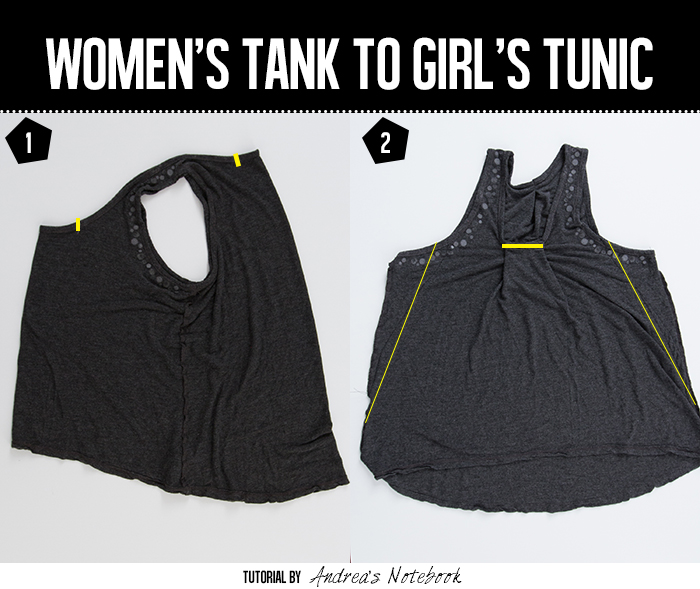 Easy tank refashion