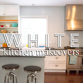 Classic white kitchen makeovers