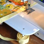 quilt binding hack! Genius!