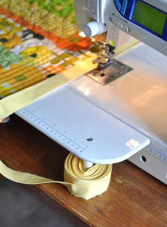quilt binding hack! Genius!
