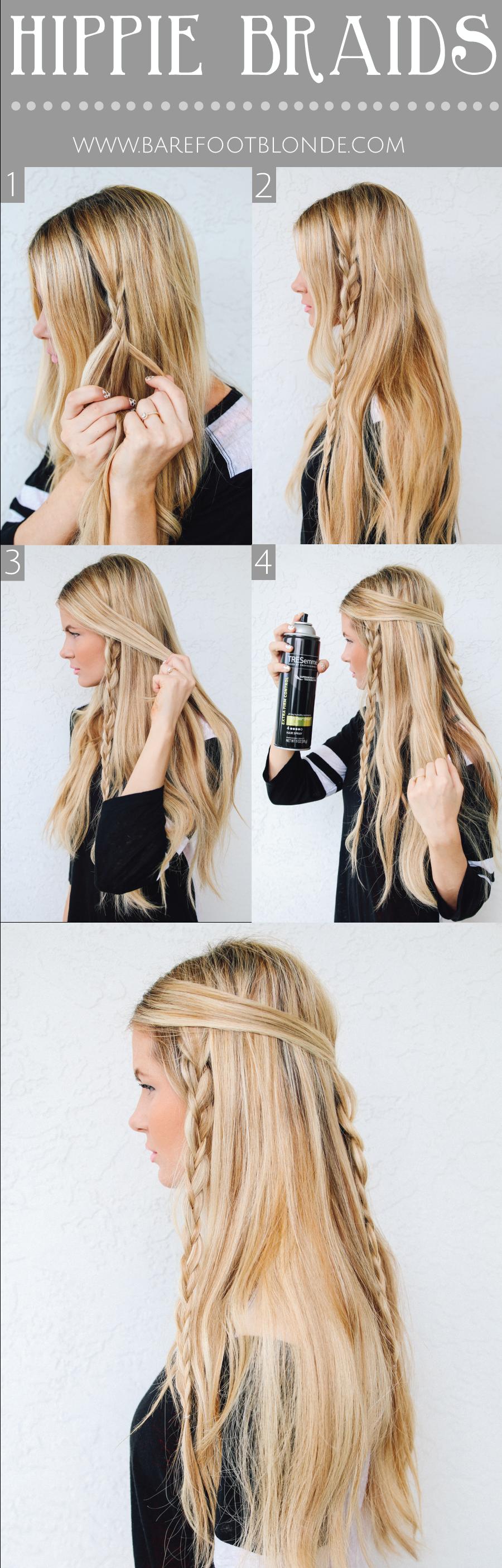 Hippy braid tutorial