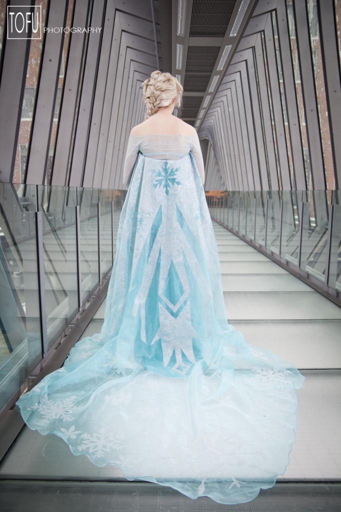 frozen elsa dress tutorial cosplay