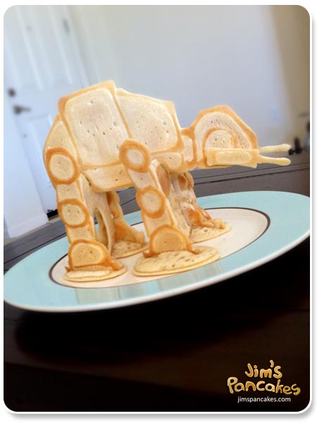 How to make pancake art