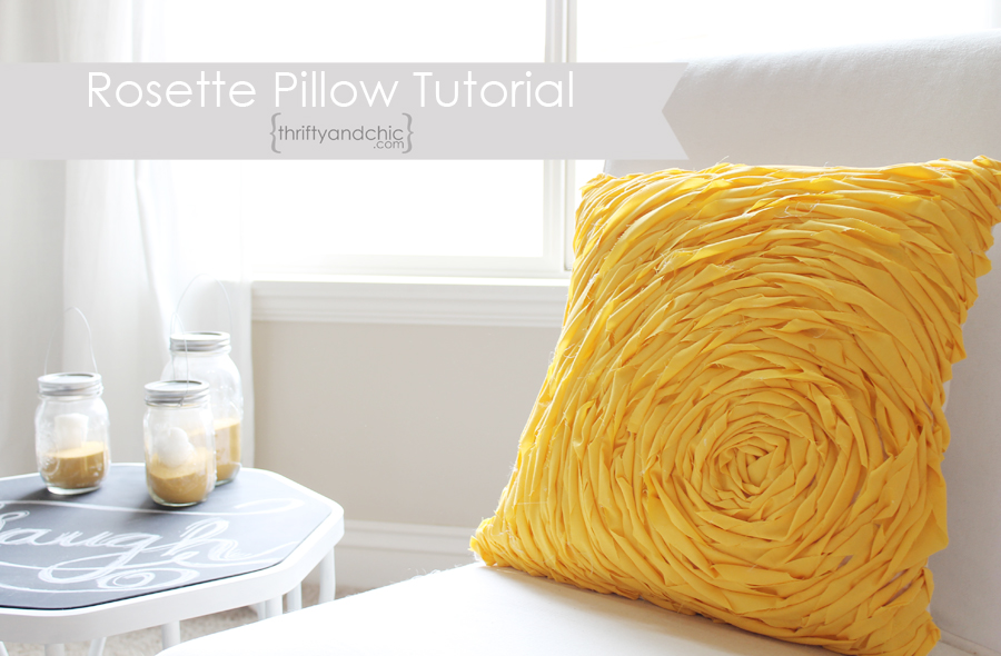 Gorgeous pillow tutorials