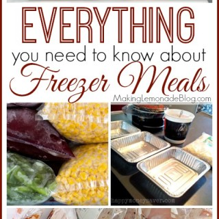 Everything you need to know about freezer cooking