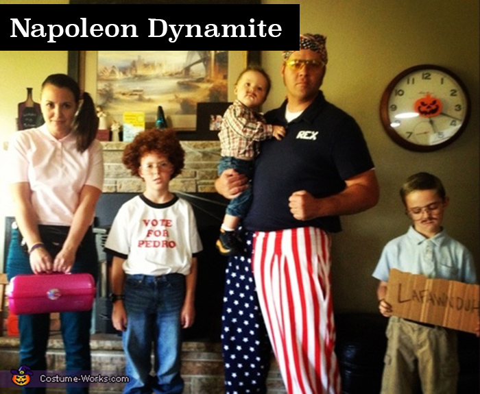 Napoleon Dynamite family costume