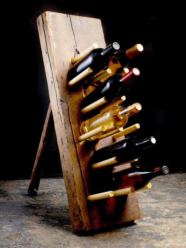 rustic wine rack tutorial