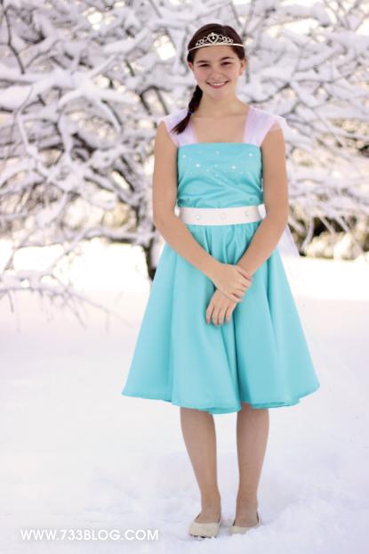 elsa dress tutorial frozen costume