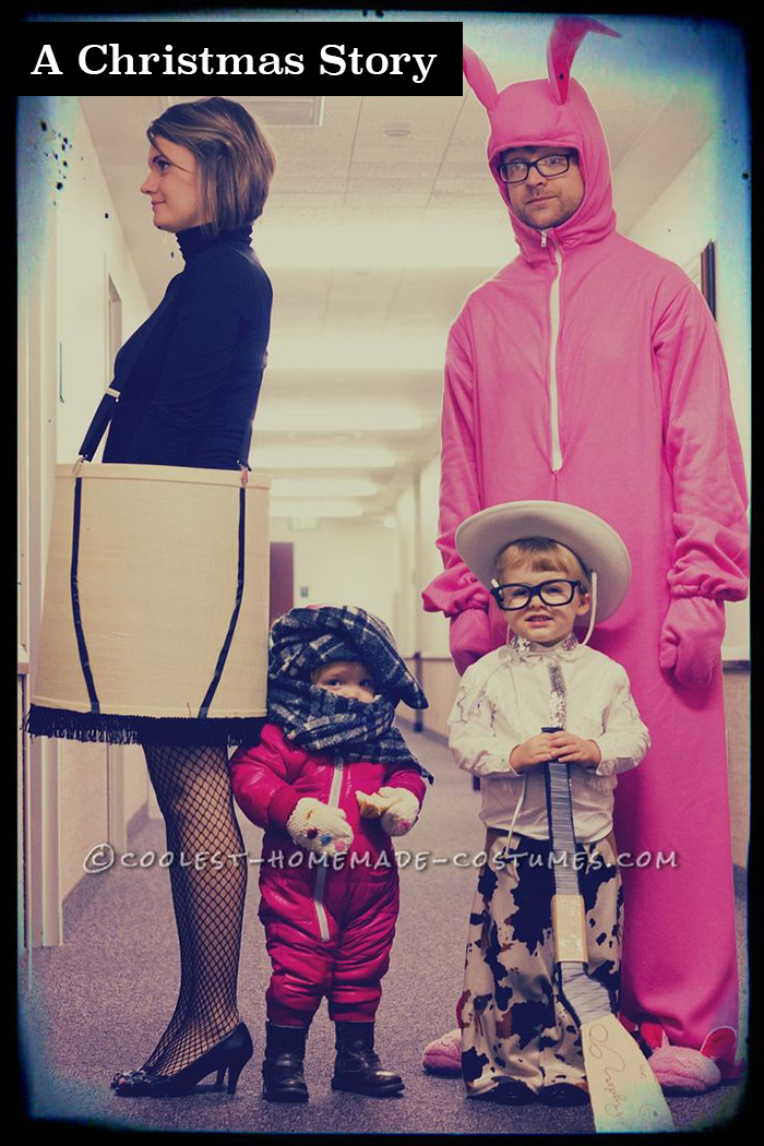 A Christmas Story Halloween costume