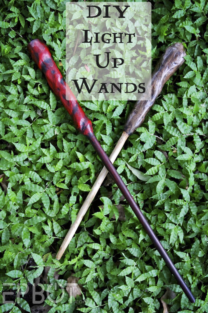 DIY Harry Potter light up wizard wand