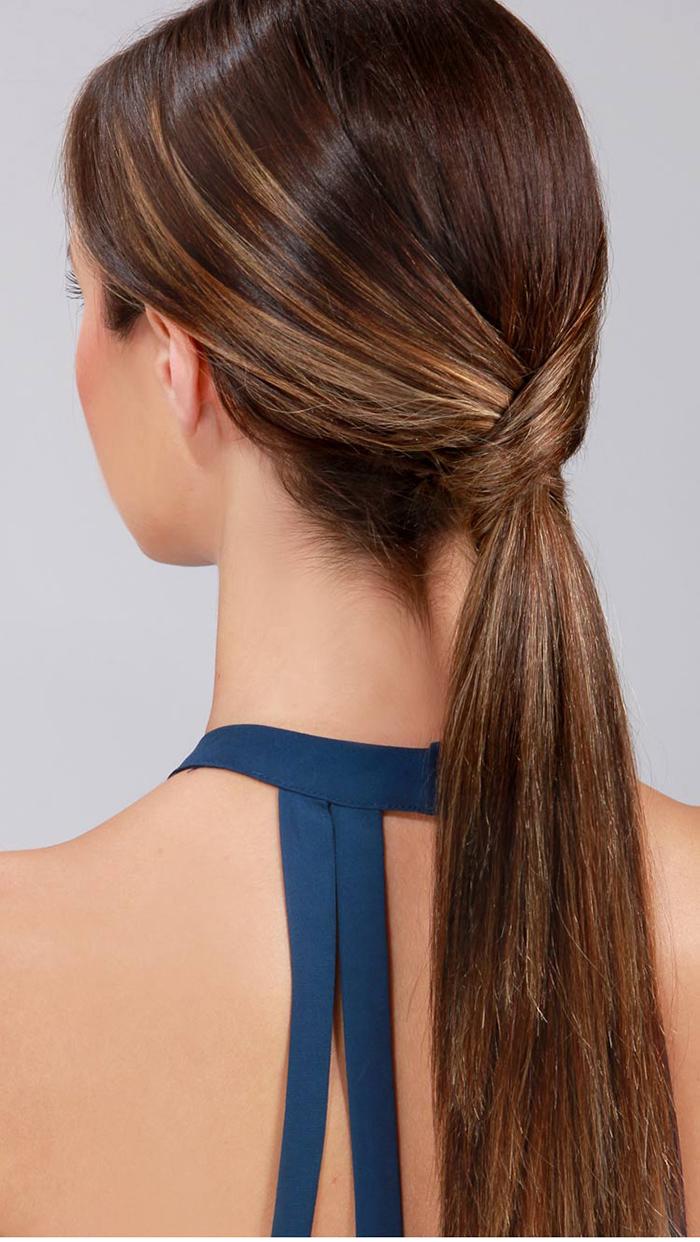 Classy ponytail tutorial