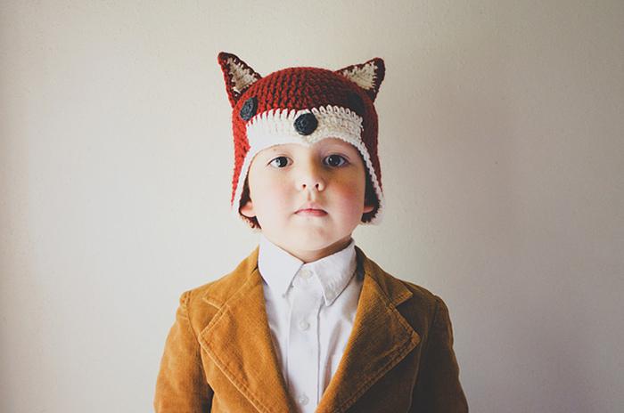 fox hat crochet pattern