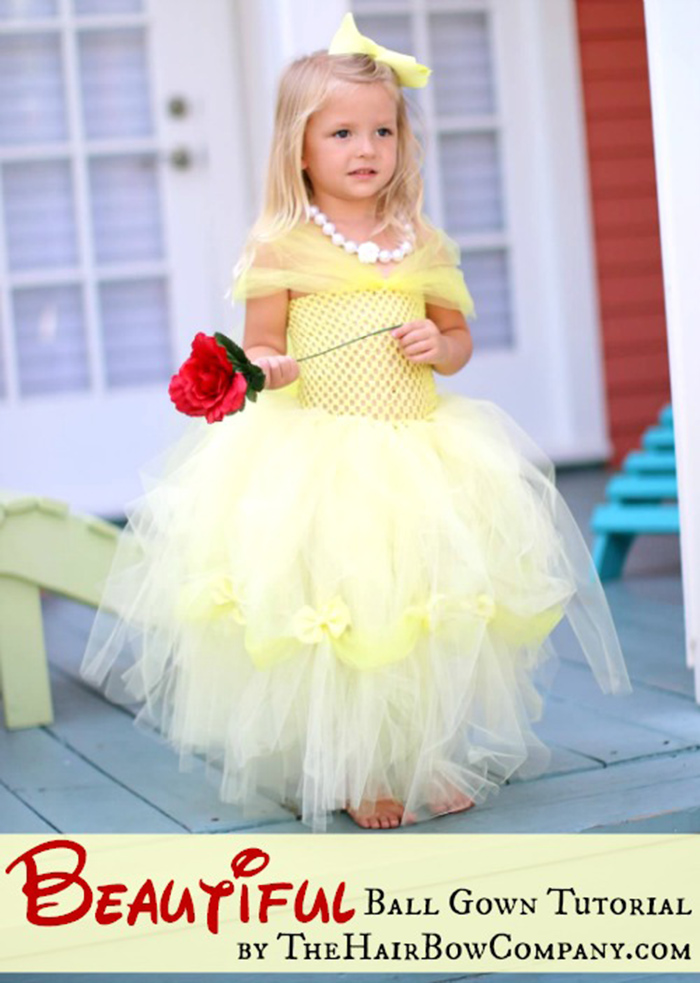 Célèbre DIY Tutu Costume Tutorials - Andrea's Notebook MV72