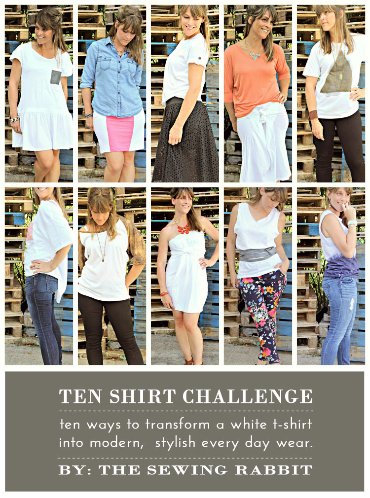 Upcycle those old t-shirts!