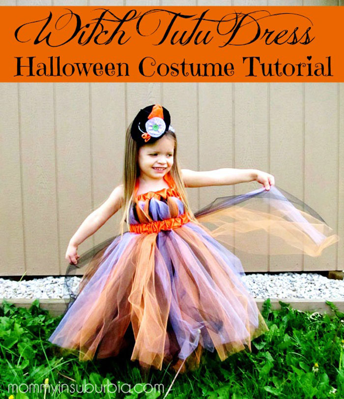Witch tutu tutorial