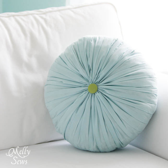 Cute pillow tutorials