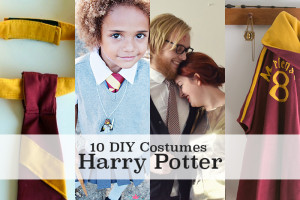 10 DIY Harry Potter costume tutorials - men, women, girls, boys, dogs & props!