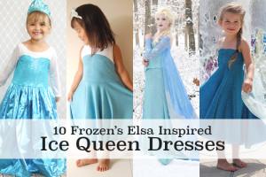 10 amazing Elsa dress tutorials!