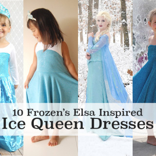 Frozen's Elsa Dress Tutorials (Ice Queen)