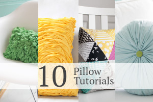 10 gorgeous pillow tutorials