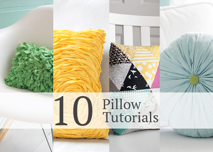 10 gorgeous pillow tutorials
