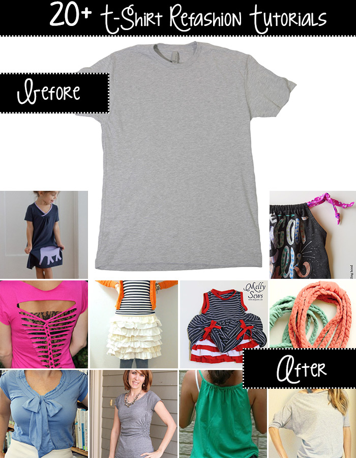 t-shirt upcycle ideas