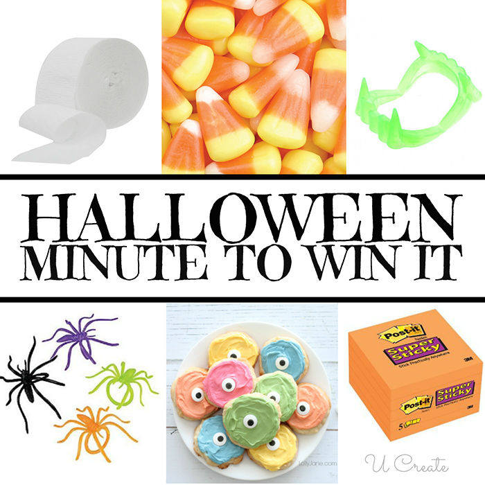 Halloween Minute To Win It Party!