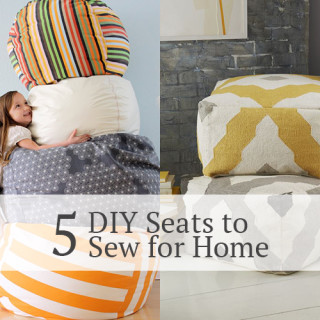 5 DIY seats to sew for home!