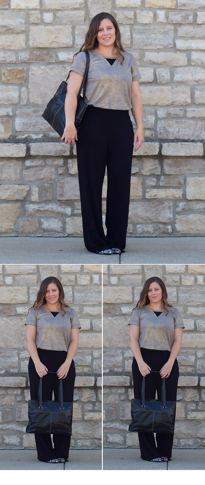 Sewing patterns: Go To Knit Pants & Neptune Tee -patternanthology.com