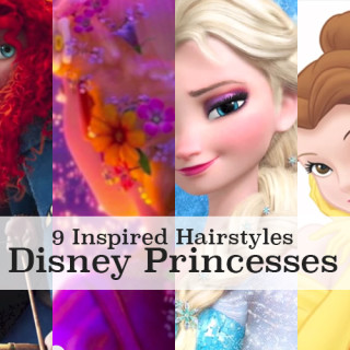 Disney princess hair tutorials