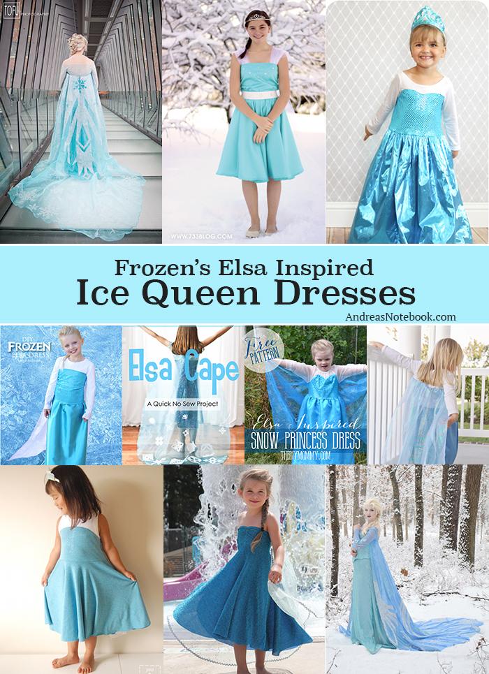 Elsa Ice Queen dress tutorial cosplay