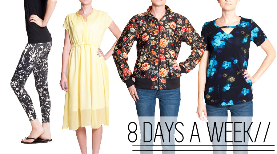 8 days a week pattern collection!