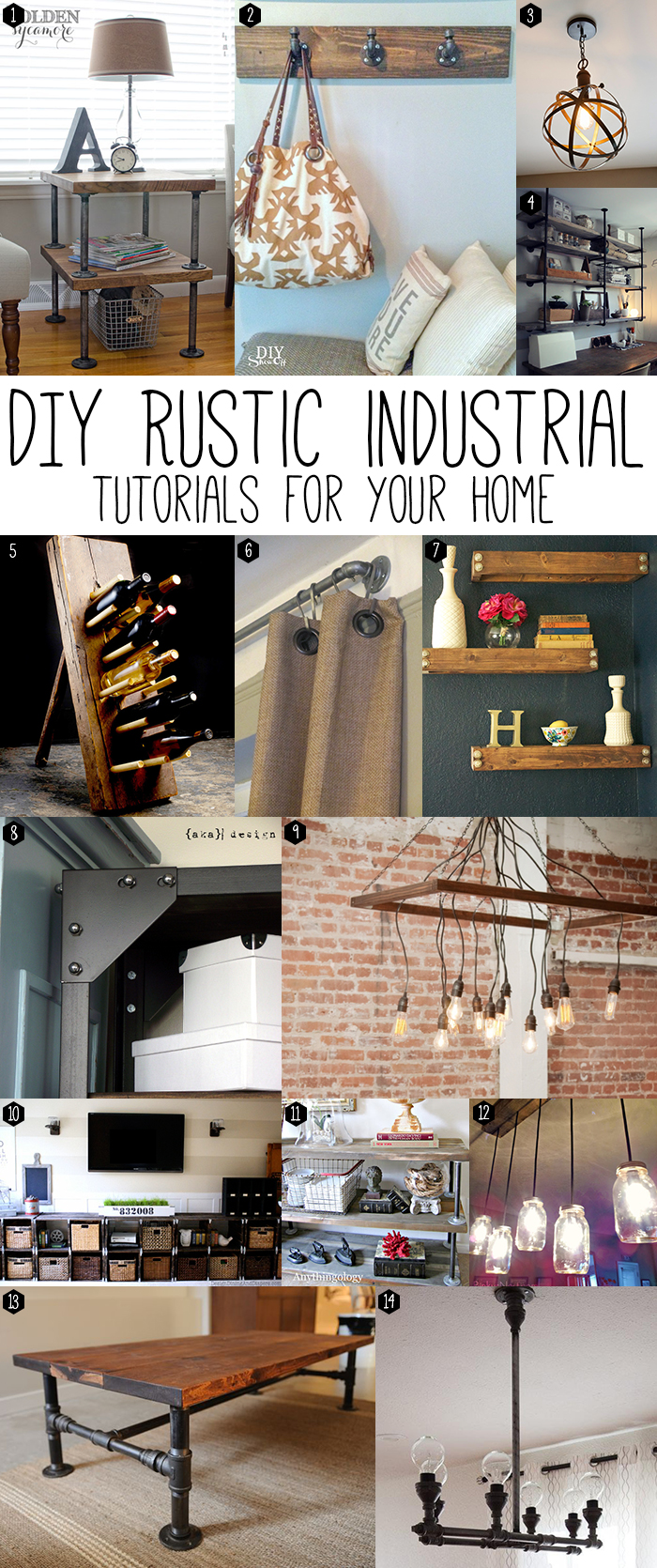 Diy Rustic Industrial Chic Andrea S Notebook
