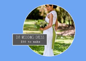 DIY crocheted wedding dress