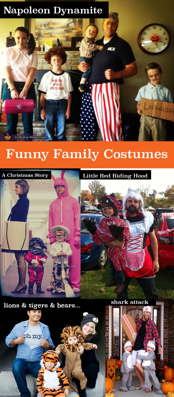 Hilarious family halloween costumes!