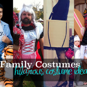 funny family costumes