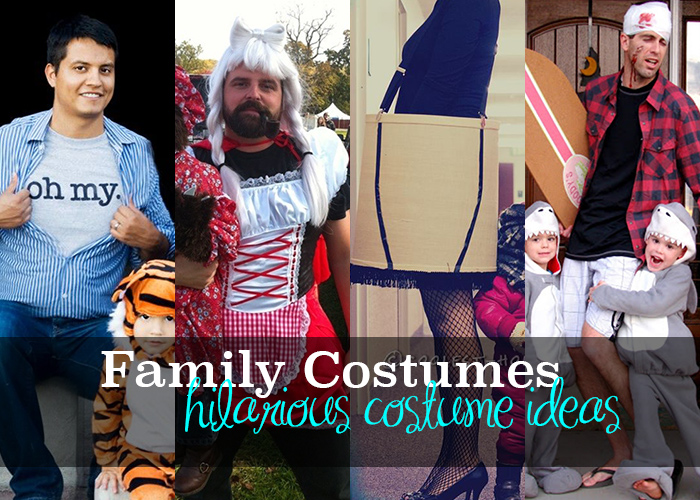 sc 1 st  Andreau0027s Notebook & 5 Funny Family Halloween Costumes - Andreau0027s Notebook