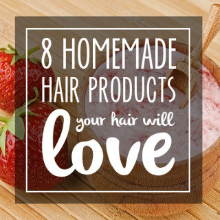 8 homemade hair products you should be making