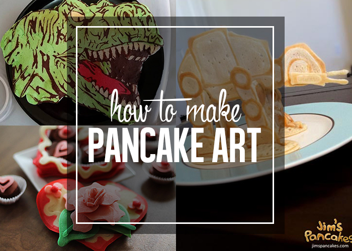 Pancake Art Challenge : How to make pancake art - Andrea s Notebook