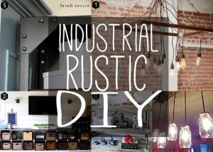 Rustic industrial DIY!