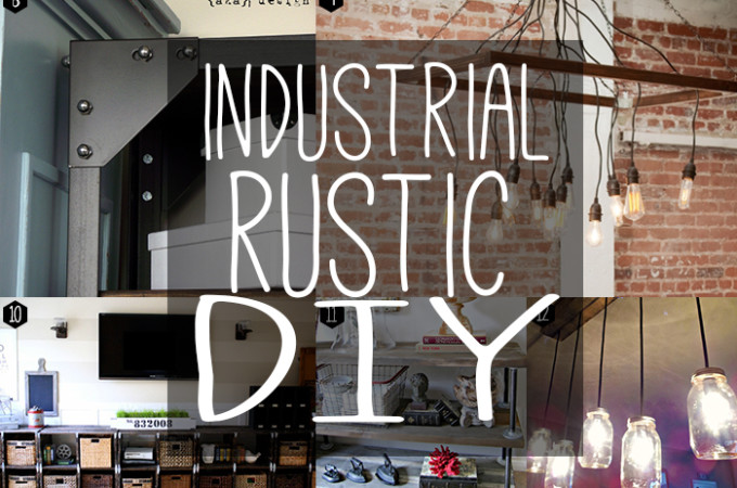 Rustic industrial DIY!